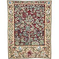 Tree of Life Wall Tapestry Red (4'6 x 3'8)
