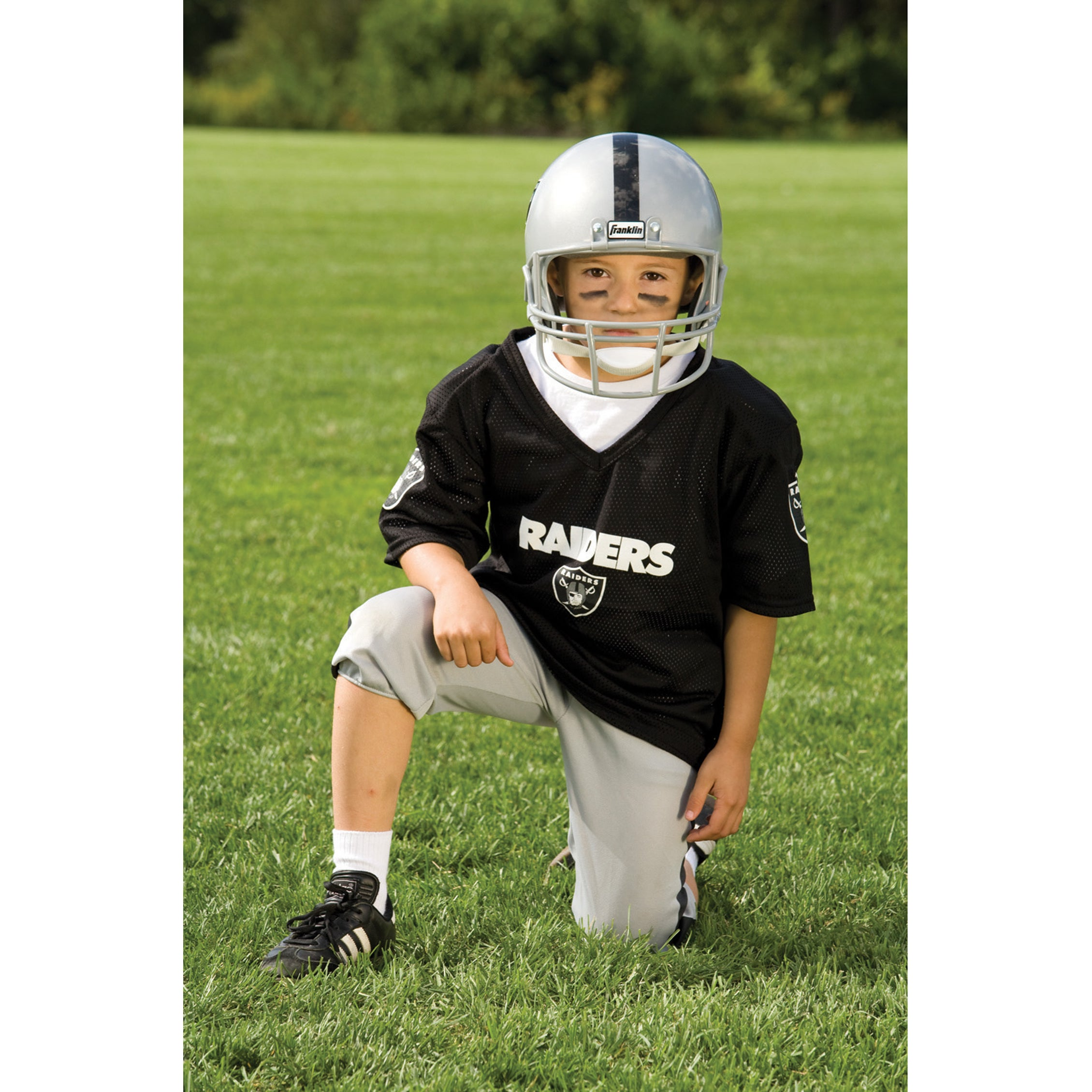 Shop Franklin Sports NFL Oakland Raiders Youth Uniform Set - Free Shipping  Today - Overstock - 6192069 3e8fefe72