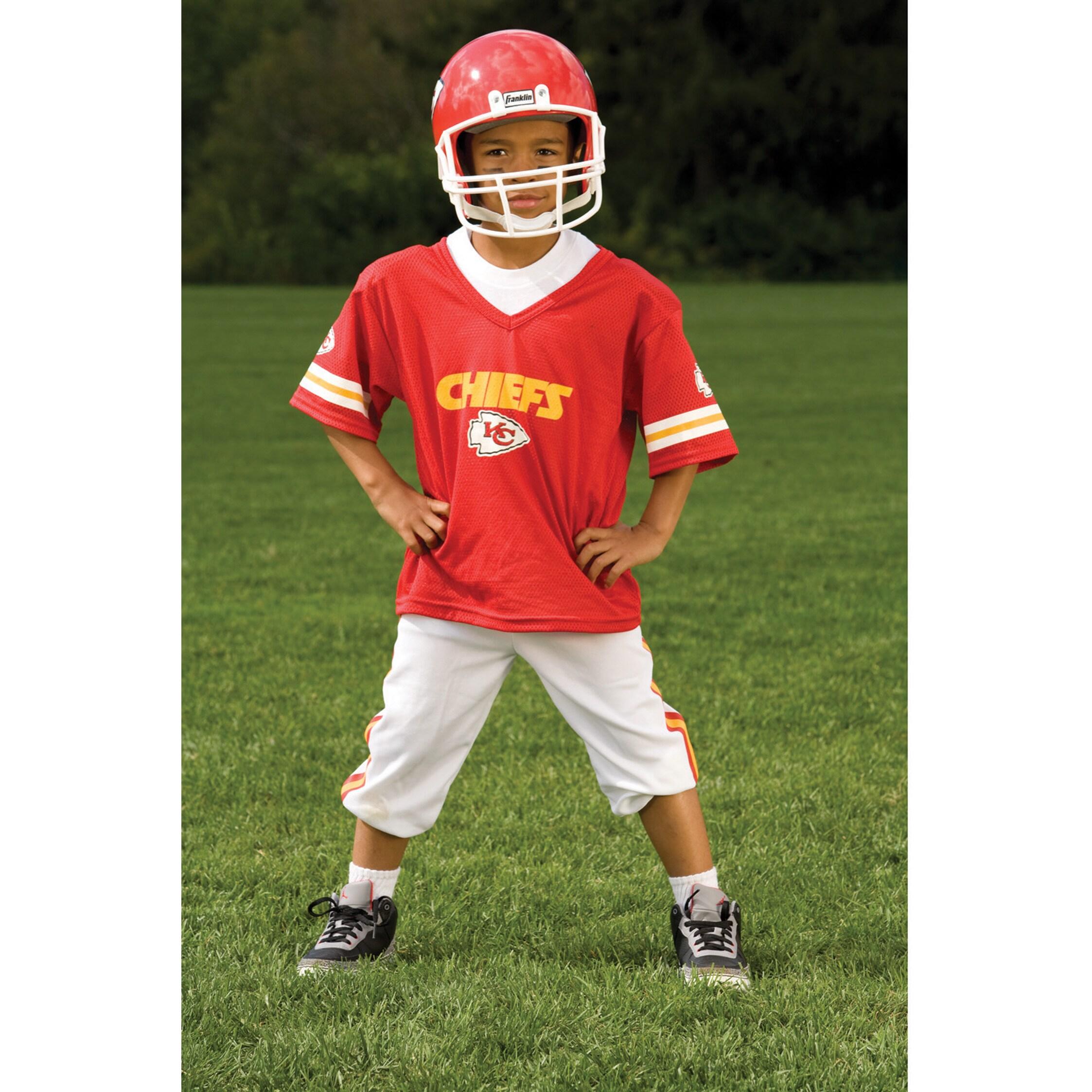 039104ef Franklin Sports NFL Kansas City Chiefs Youth Uniform Set