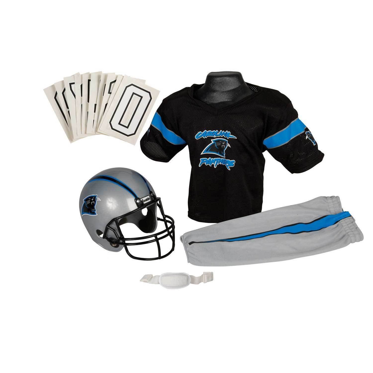 Shop Franklin Sports NFL Carolina Panthers Youth Uniform Set - Free  Shipping Today - Overstock - 6192084 283be1186