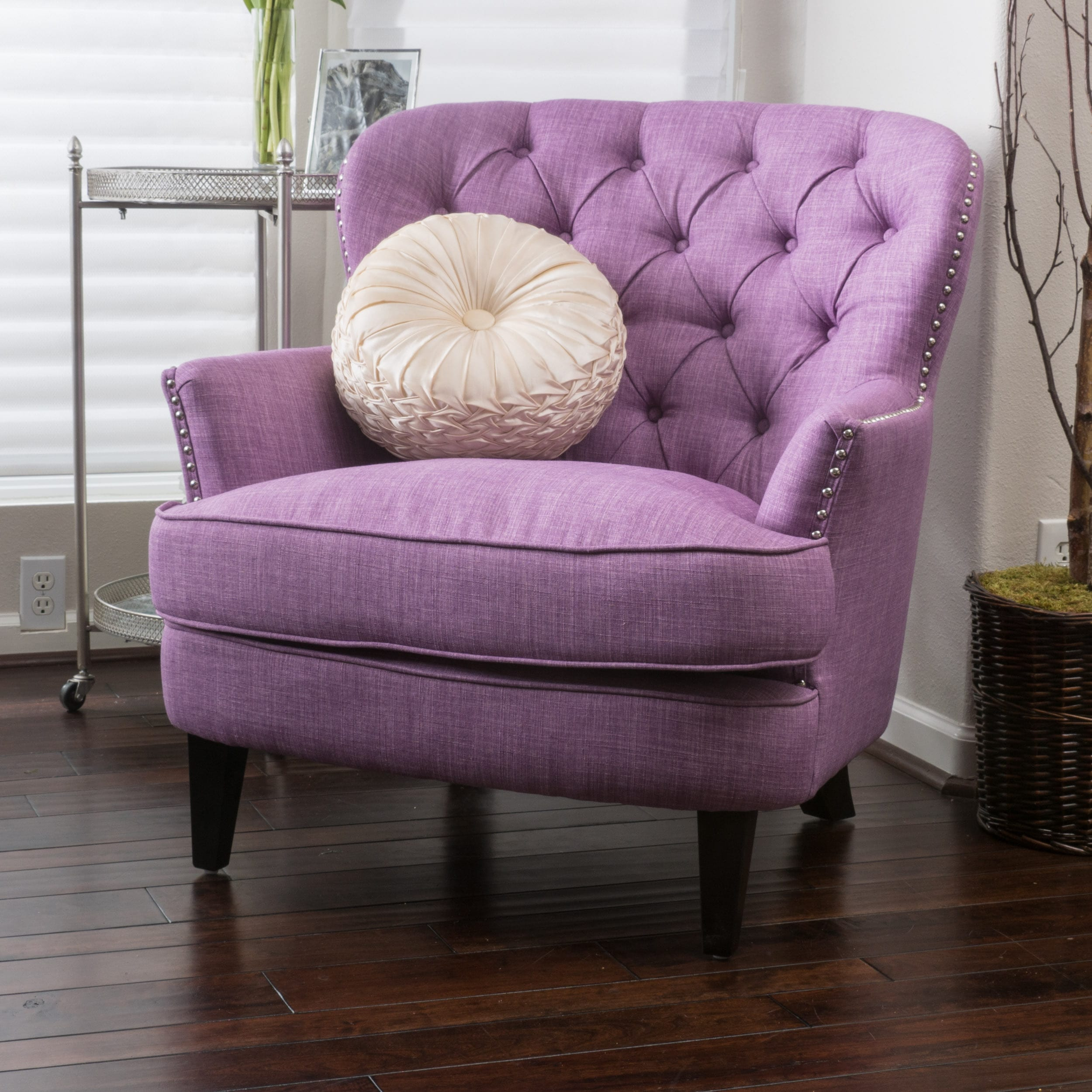 Tafton Tufted Oversized Fabric Club Chair By Christopher Knight Home   Free  Shipping Today   Overstock   13850122