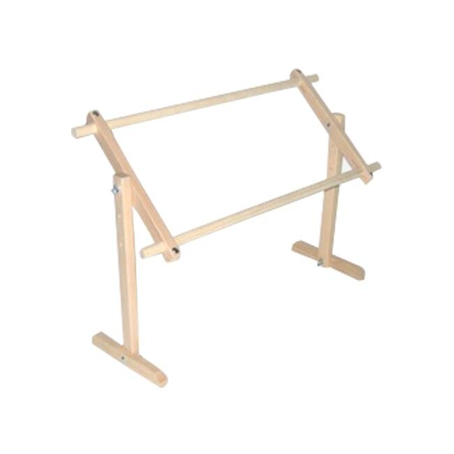 Shop Edmunds Adjustable Table / Lap Hardwood Needlework Stand - Free ...