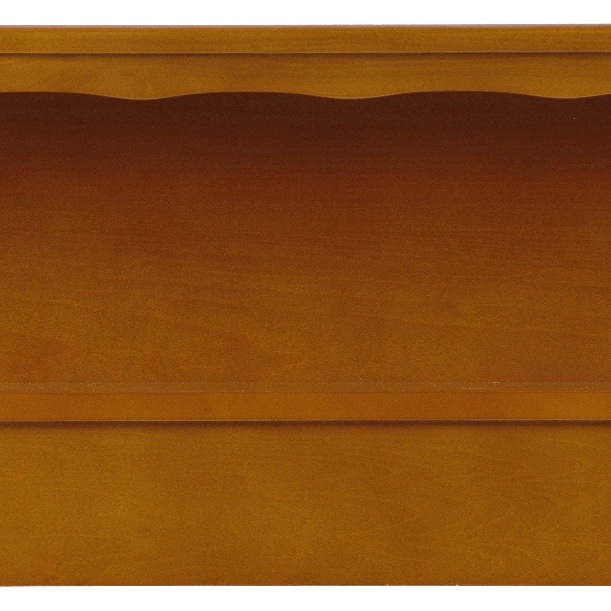 gardens and ip homes com headboard better leighton bookcase rustic twin walmart finish cherry