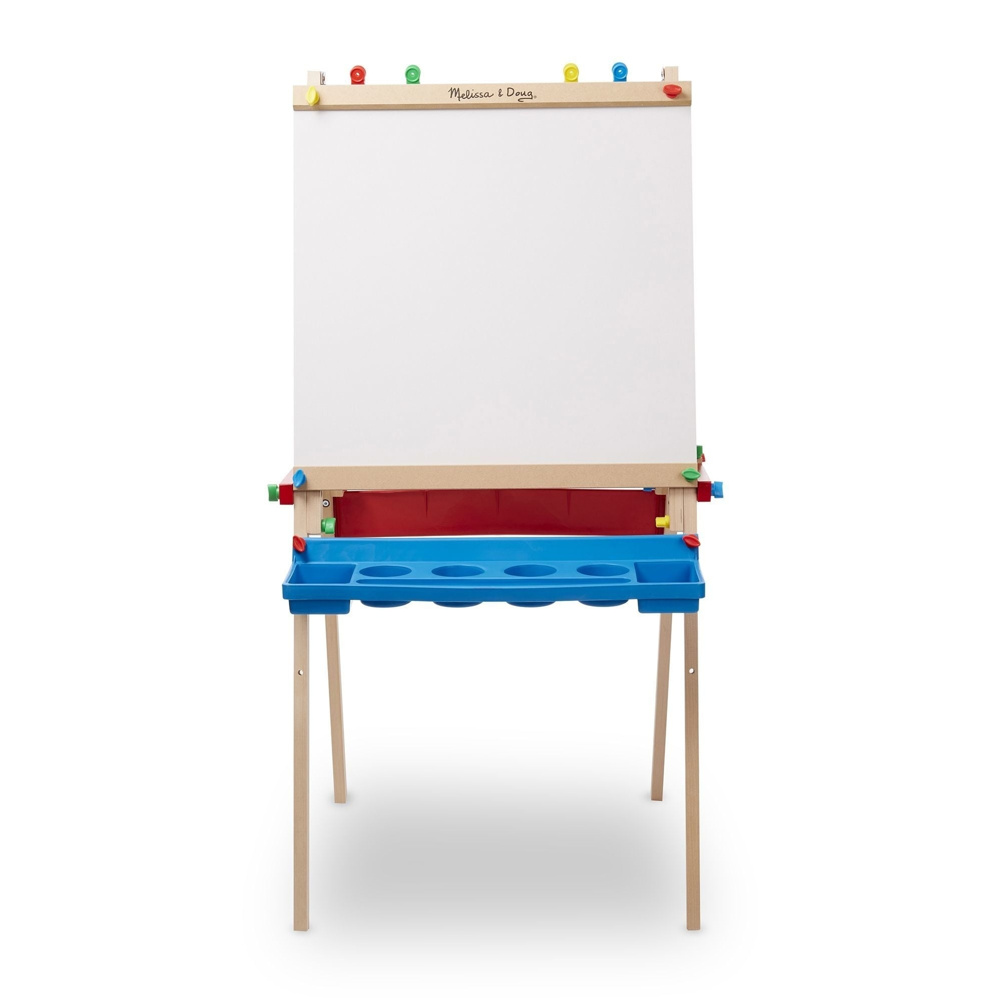 Shop Melissa Doug Deluxe Wooden Standing Art Easel Set Free