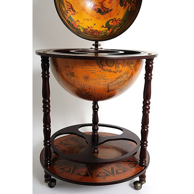 Old Modern Handicrafts Globe Drinks Cabinet Floor Stand - Free Shipping  Today - Overstock - 13867355 - Old Modern Handicrafts Globe Drinks Cabinet Floor Stand - Free
