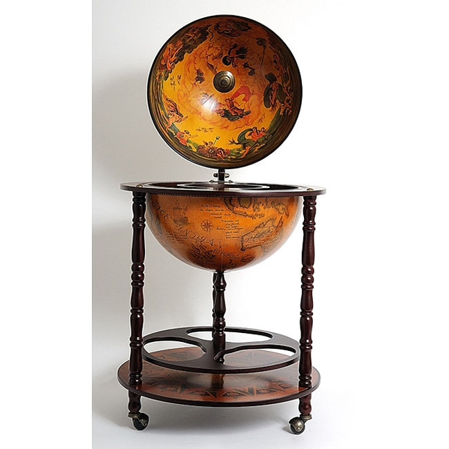 Old Modern Handicrafts Globe Drinks Cabinet Floor Stand - Free Shipping  Today - Overstock.com - 13867355 - Old Modern Handicrafts Globe Drinks Cabinet Floor Stand - Free
