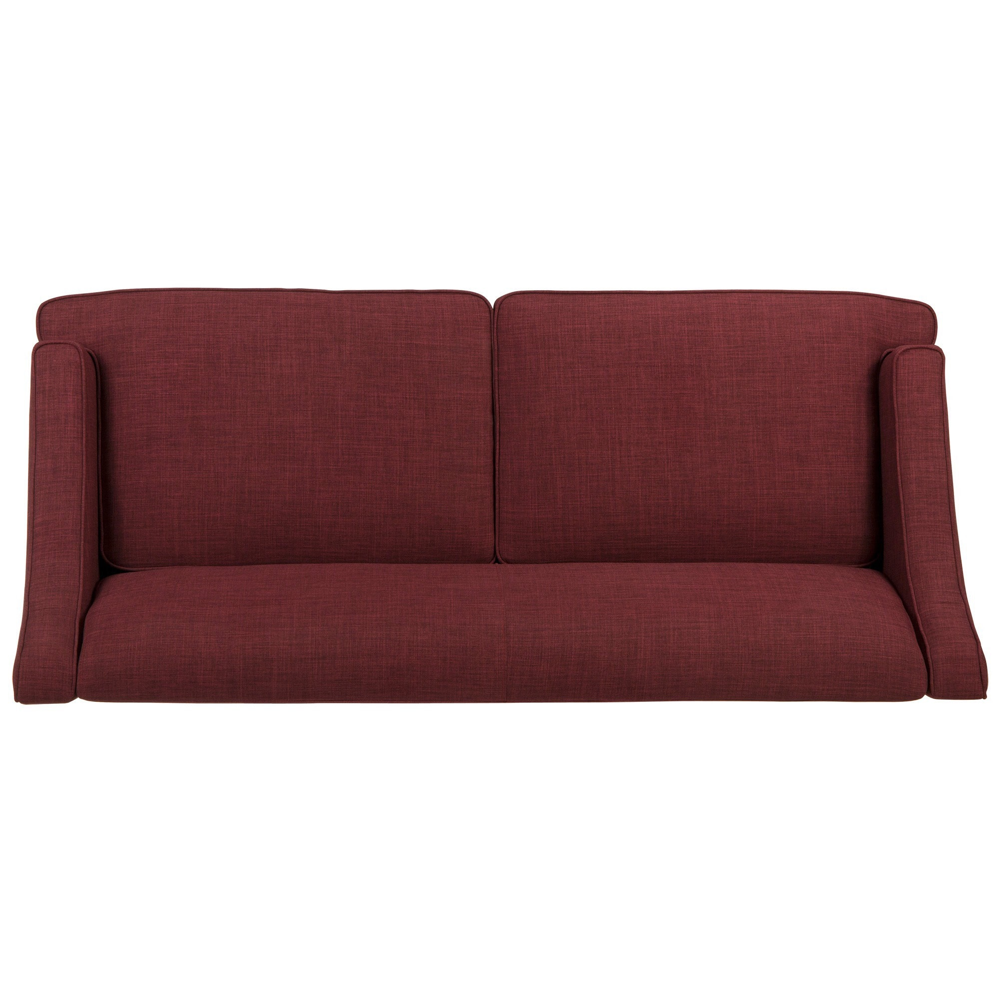56f2b0042a Shop Winslow Concave Arm Modern Sofa by iNSPIRE Q Bold - On Sale - Free  Shipping Today - Overstock - 6223601