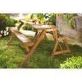 The Gray Barn Bluebird Interchangeable Picnic Table