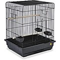 Prevue Pet Products Square Roof Black Parrot Cage