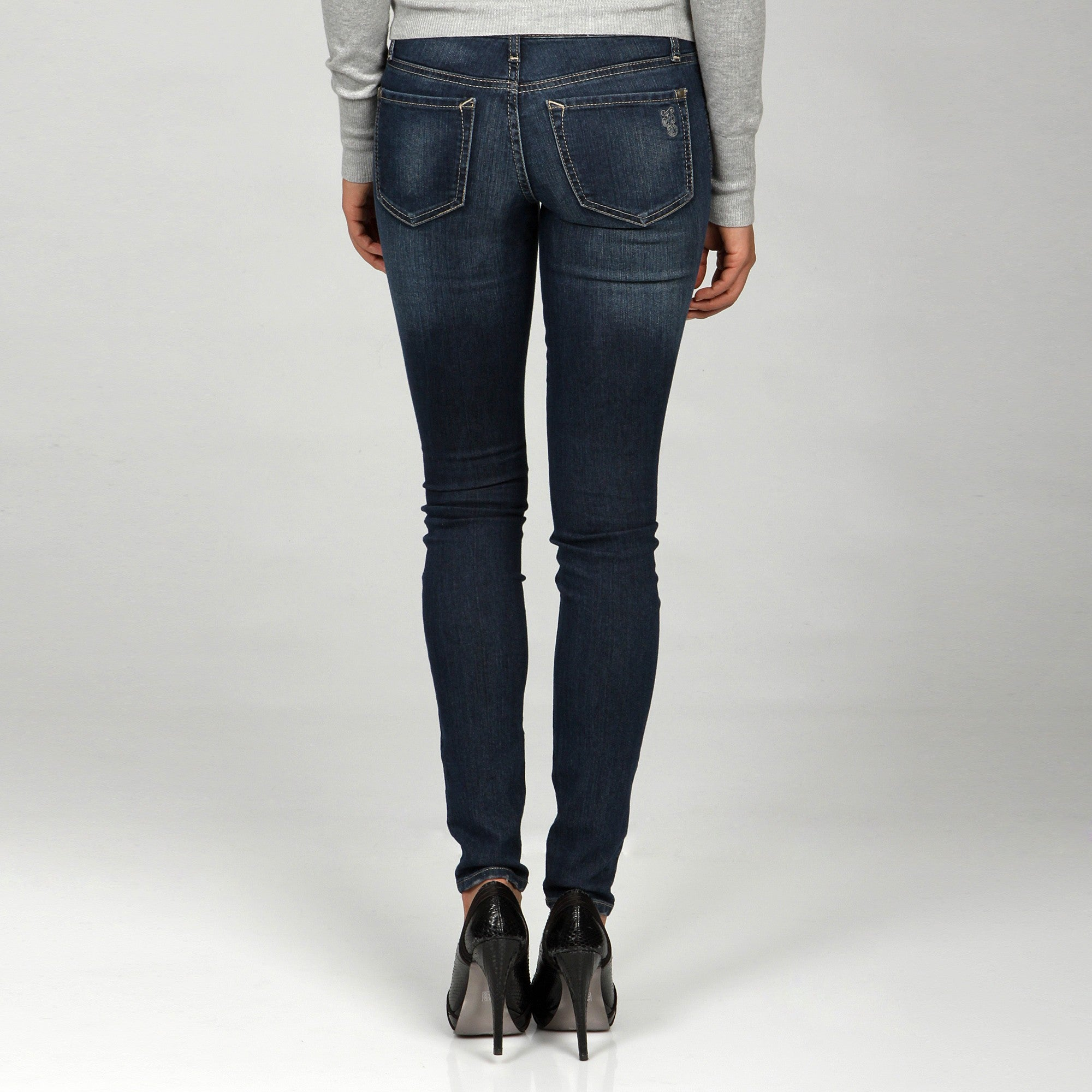 90b7296c205f8 Shop Jessica Simpson Junior's 'Kiss Me' Jegging - Free Shipping On Orders  Over $45 - Overstock - 6237744
