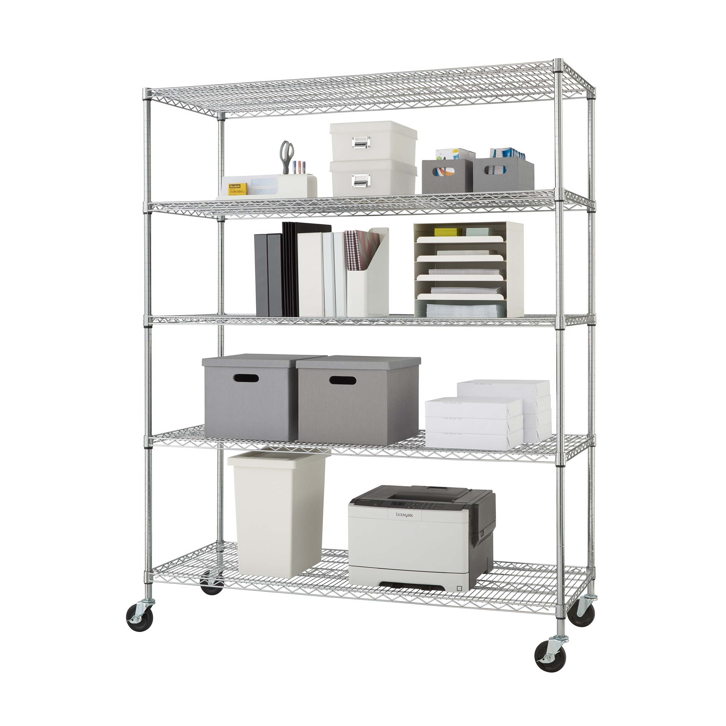 Computer Wire Storage Rack - WIRE Center •