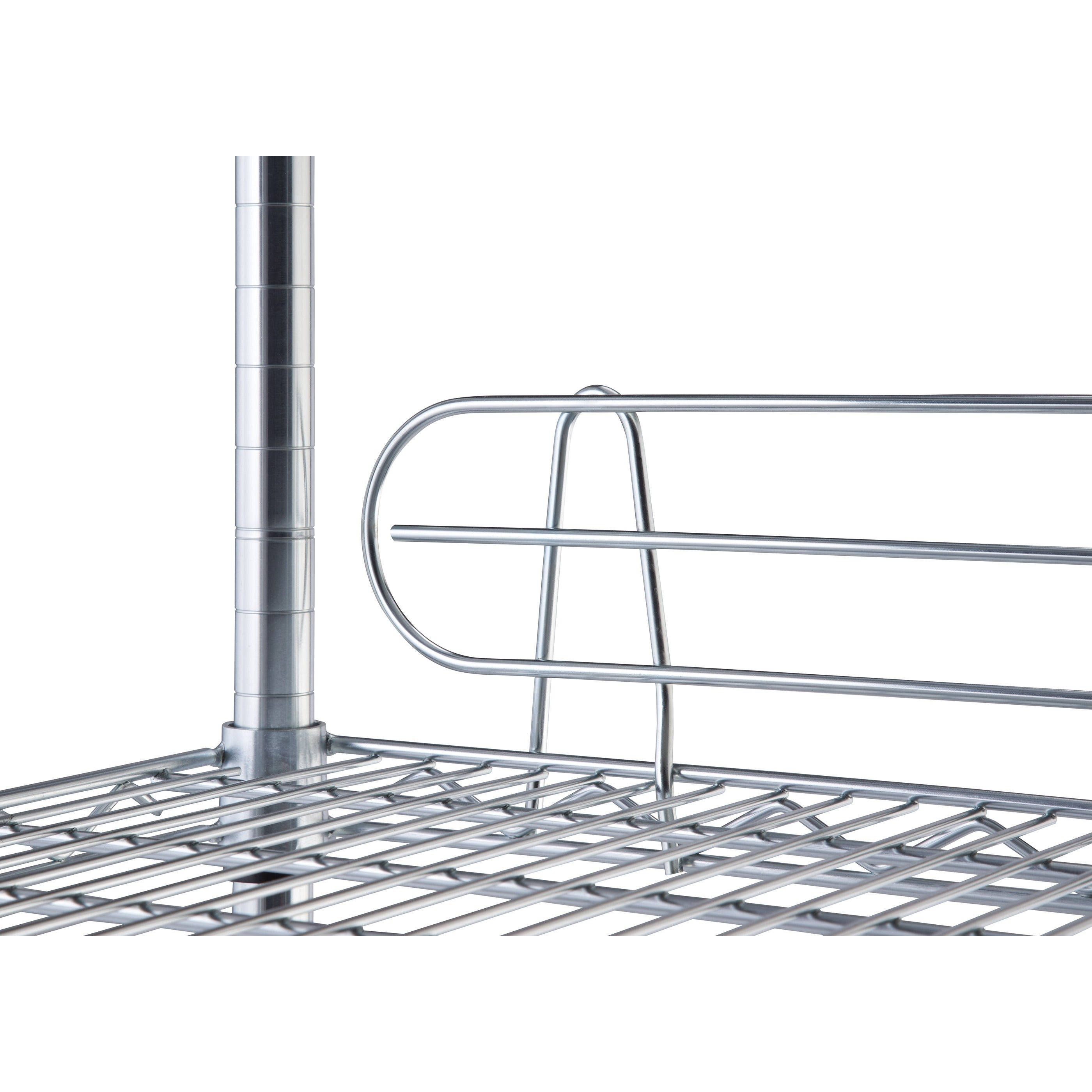 TRINITY NSF 6-tier Chrome Wire Shelving Rack - Free Shipping Today ...