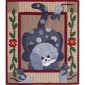 Spotty Cat 13x15 Quilt Kit
