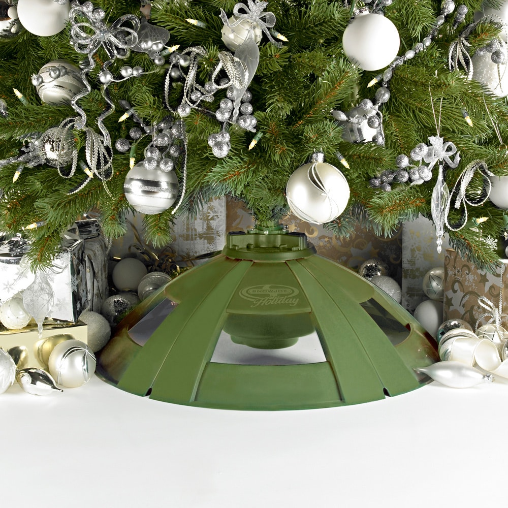 Snow Joe H092 Holiday Rotating Tree Stand for Artificial Trees up to ...