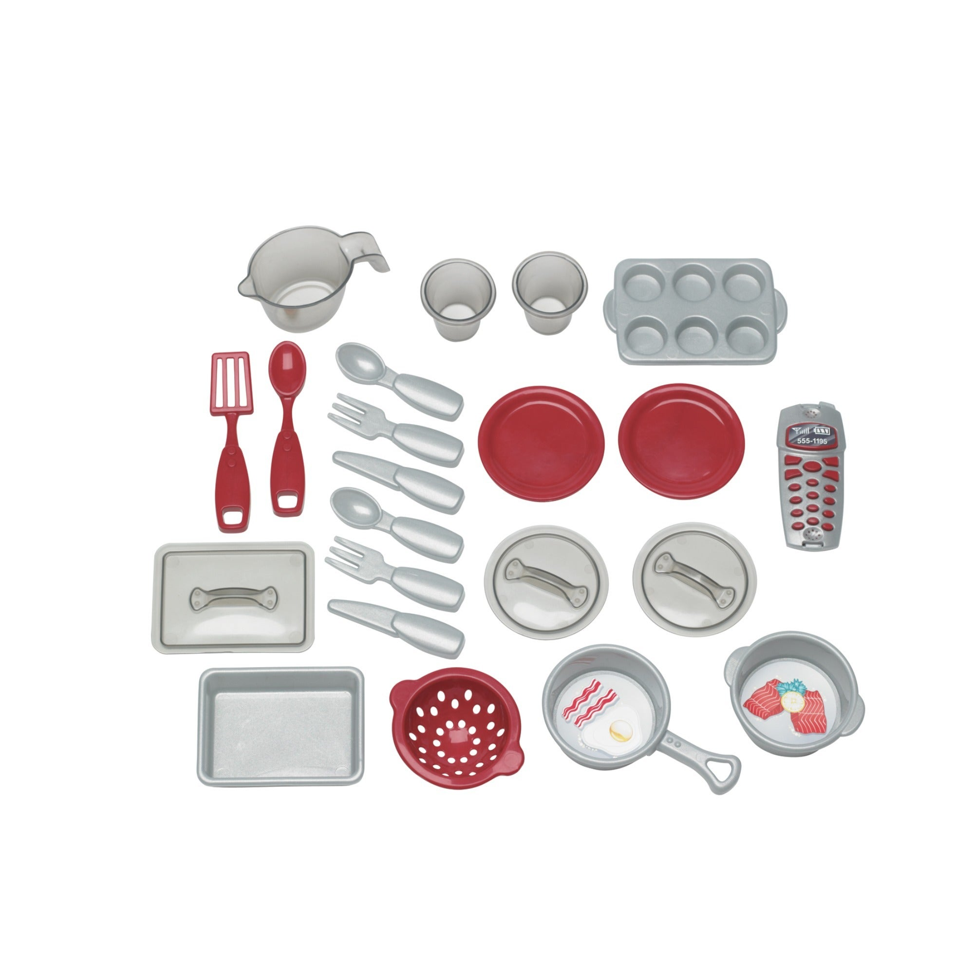 american plastic toys cookin kitchen play set with realistic burners   white   free shipping today   overstock com   13920034 american plastic toys cookin kitchen play set with realistic      rh   overstock com