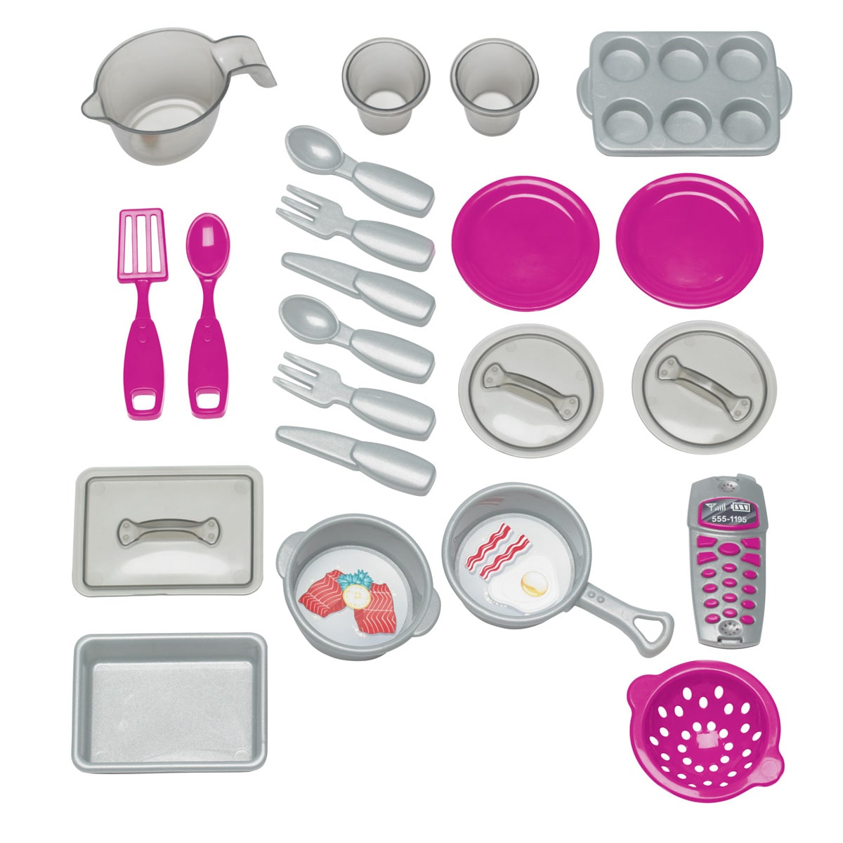 American Plastic Toys Custom Kitchen Play Set - Free Shipping Today ...