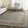 Safavieh Handmade Heritage Timeless Traditional Blue Wool Rug (9'6 x 13'6)