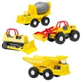 American Plastic Toys Construction Vehicles (case of 16)