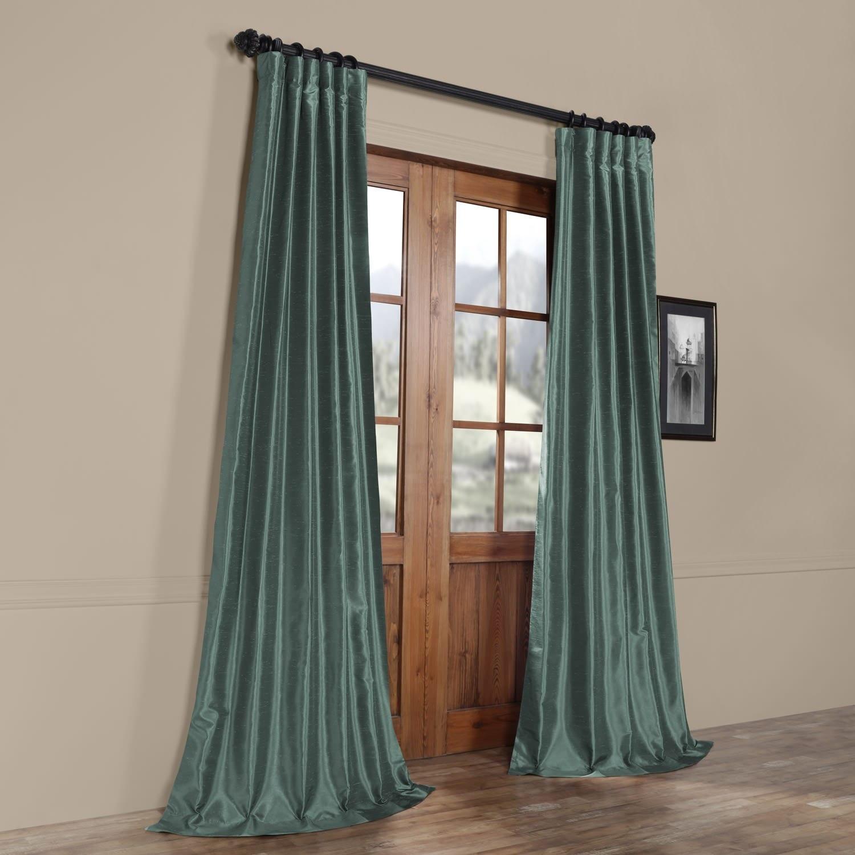 dupioni uk silk p wilko eyelet silver en faux x curtains