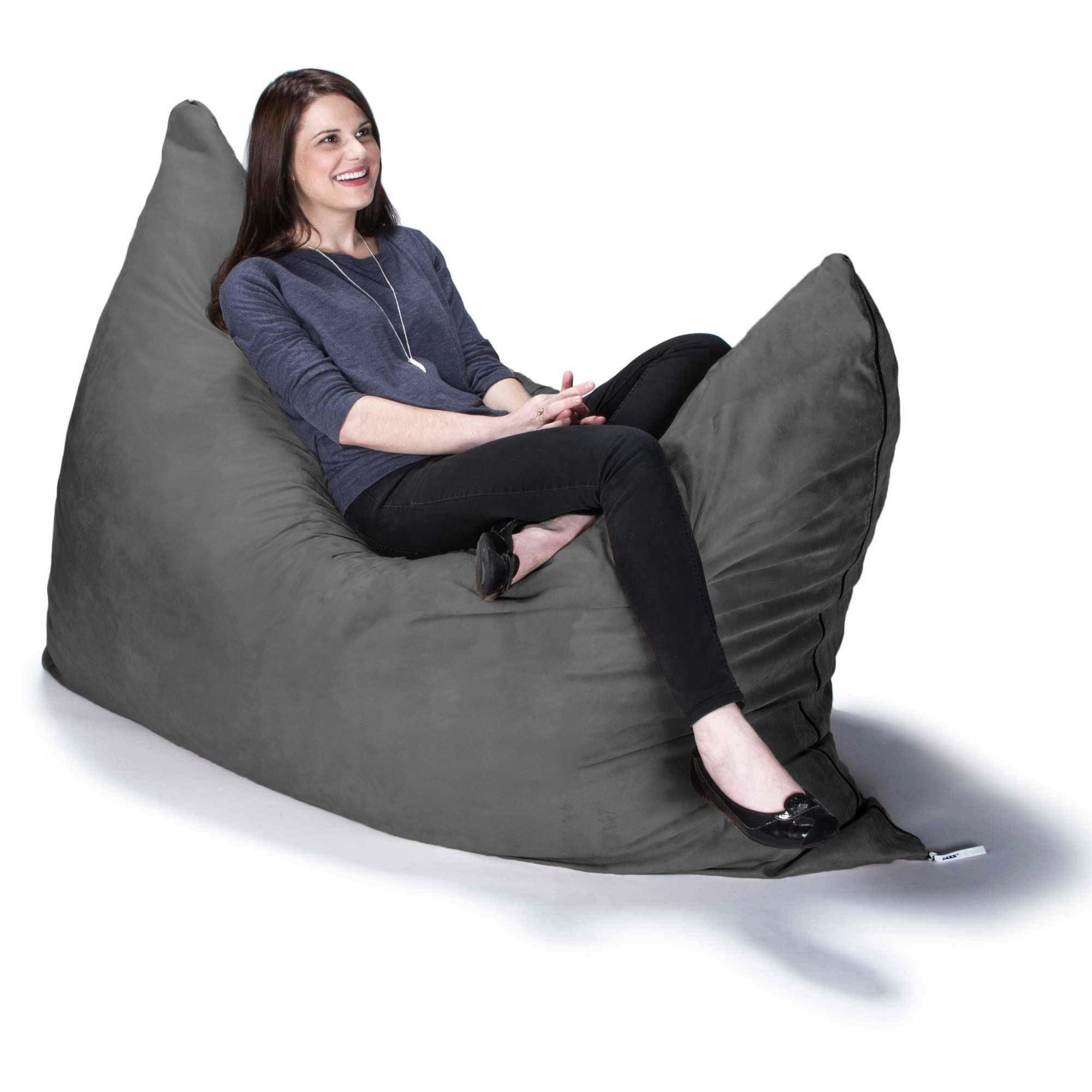 Shop Jaxx 5.5u0027 Pillow Saxx Bean Bag Chair   Free Shipping Today    Overstock.com   6300622