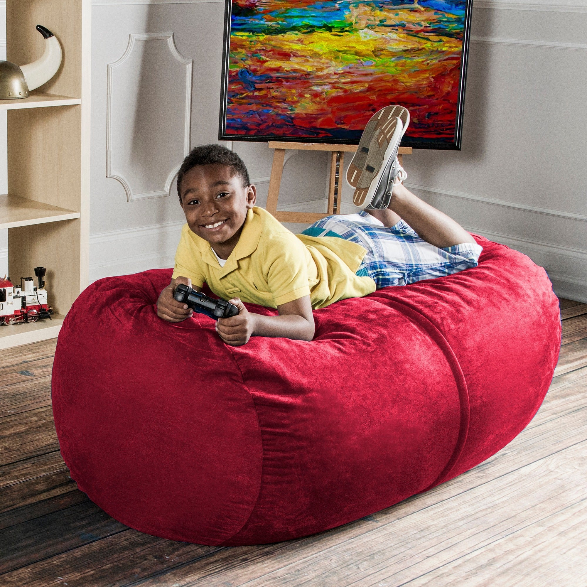 Ja 4 Lounger Bean Bag Chair On Free Shipping Today 6300724