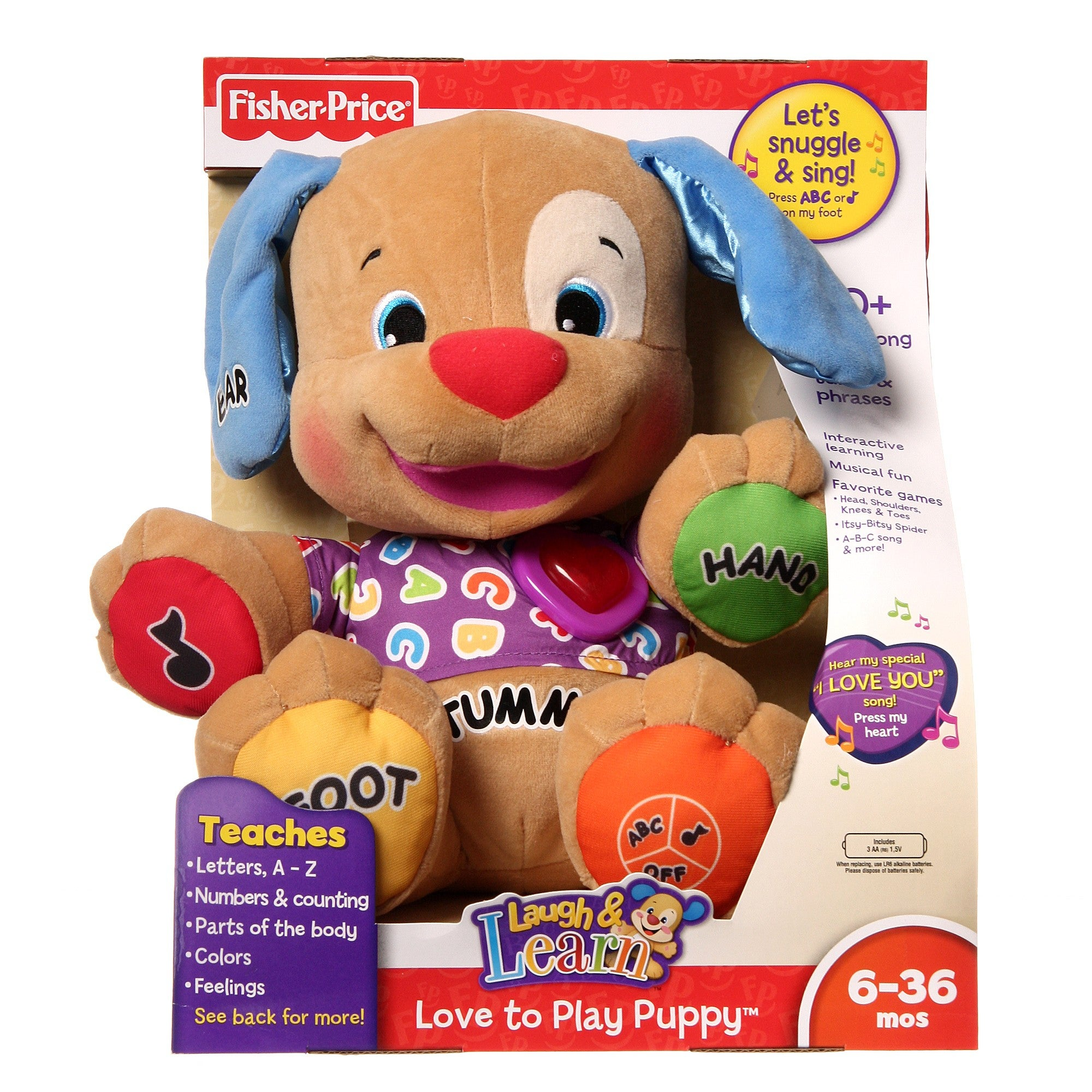 Shop Fisher Price Laugh Learn Love To Play Puppy Free Shipping