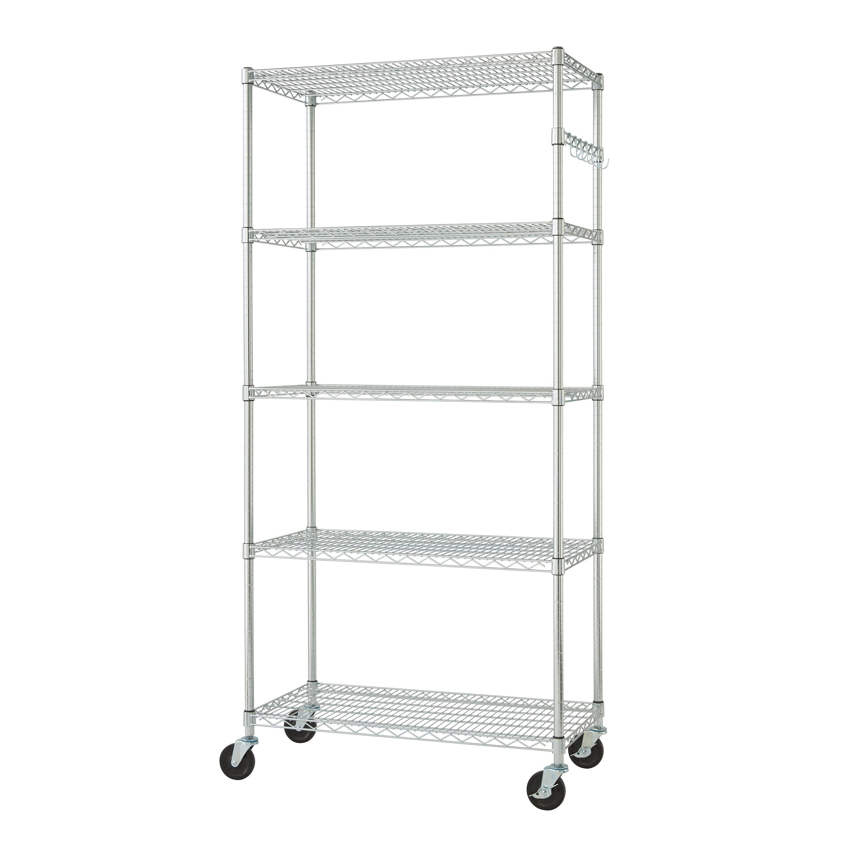 Trinity 36-inch NSF Chrome Wire Shelving Rack - Free Shipping Today ...