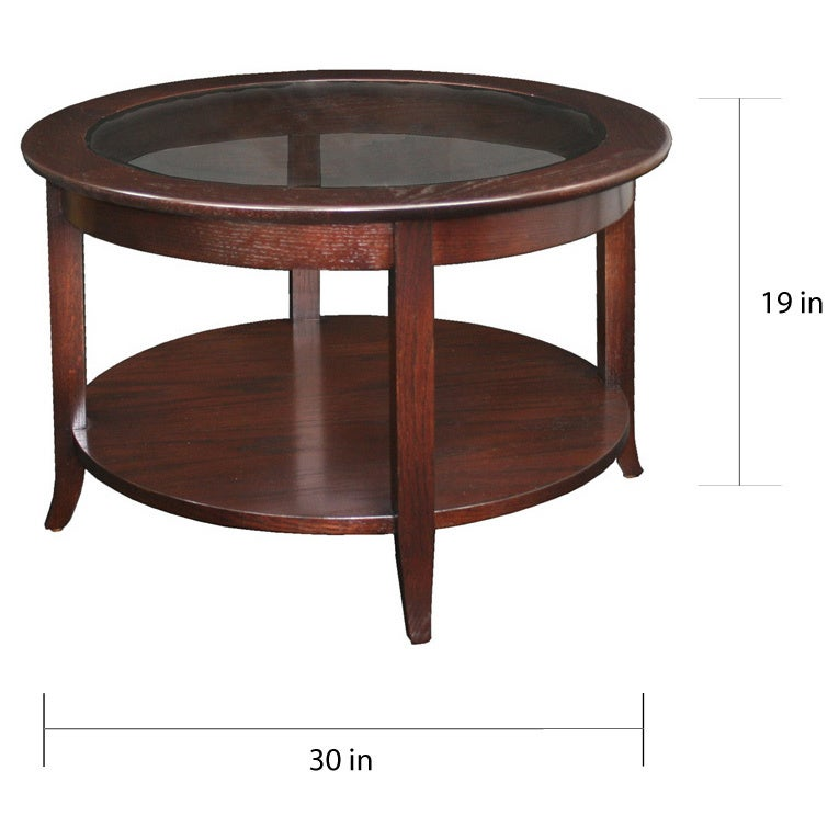 Exceptionnel Shop Laurel Creek Lydia Chocolate Bronze Round Coffee Table   Free Shipping  Today   Overstock.com   6318697