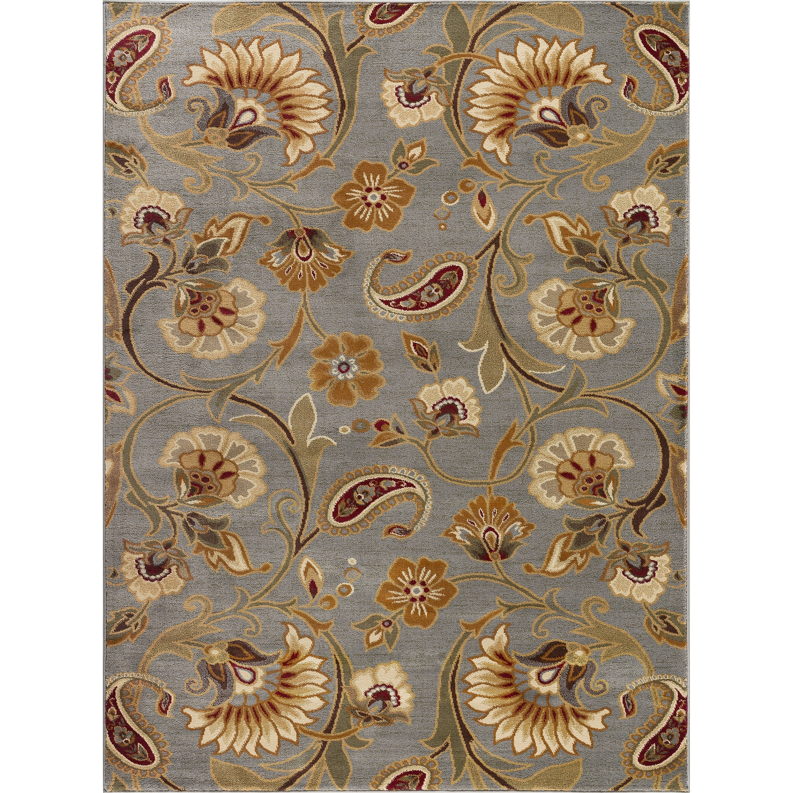 Alise Infinity Blue Area Rug 7 10 X 3 Free Shipping Today 13948415