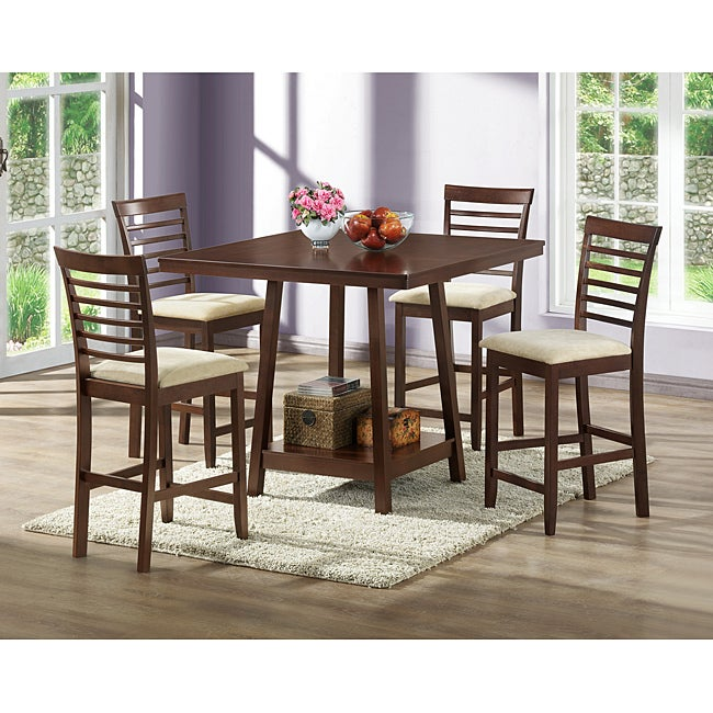 Kelsey 5 Piece Counter Set Free Shipping Today 6327564