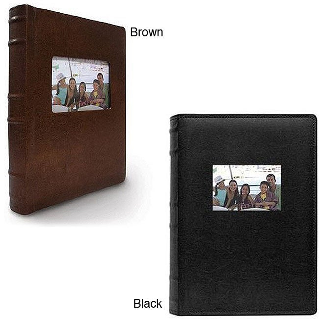 Shop Old Town Bonded Leather Photo Album Holds 300 Photos Pack Of 2