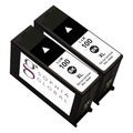 Lexmark 100XL Compatible Black Ink Cartridge (Pack of 2)
