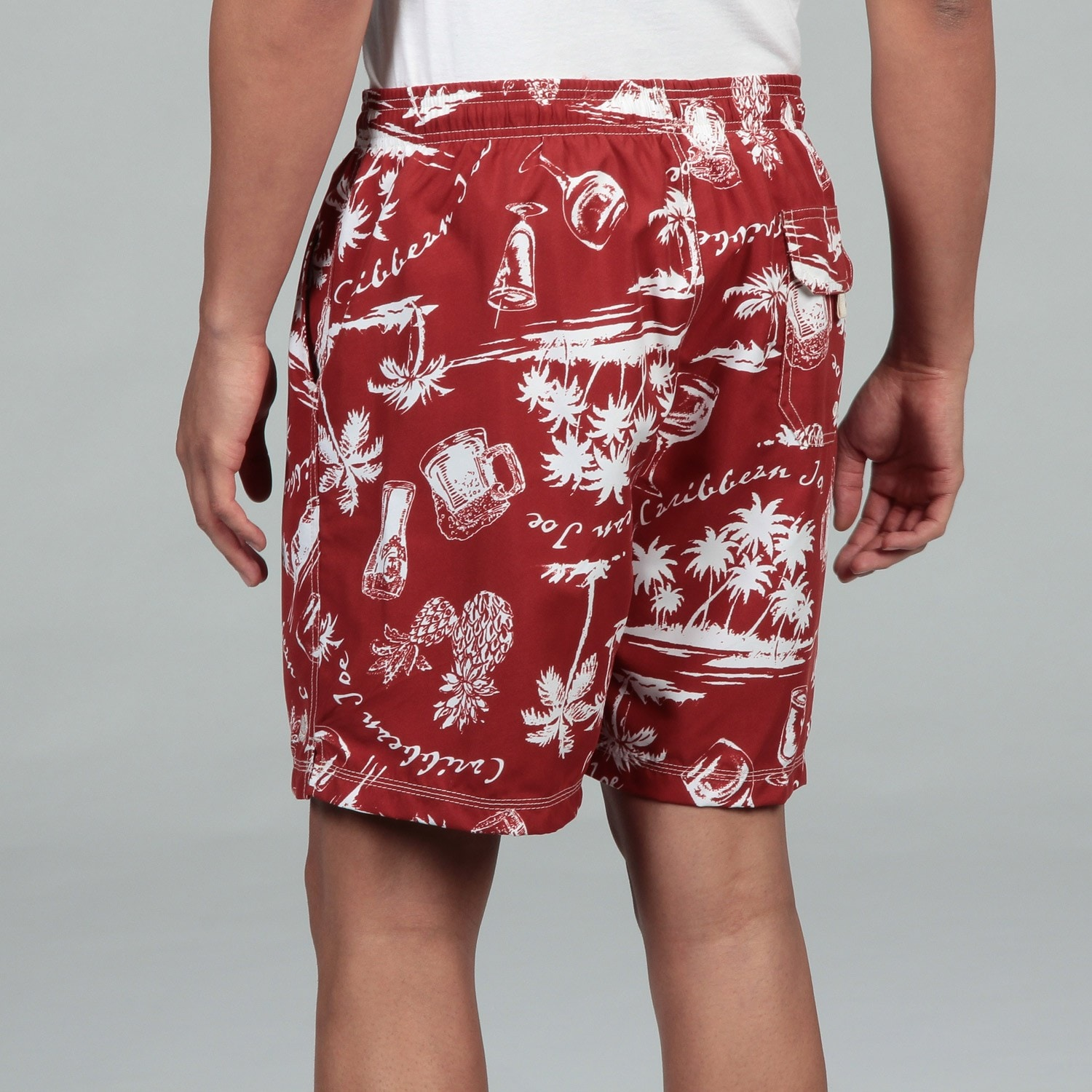 80184f25a8 Shop Caribbean Joe Men's Swim Shorts FINAL SALE - Free Shipping On Orders  Over $45 - Overstock - 6337729