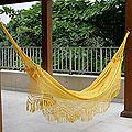 Cotton 'Amazon Sun' Hammock (Brazil)