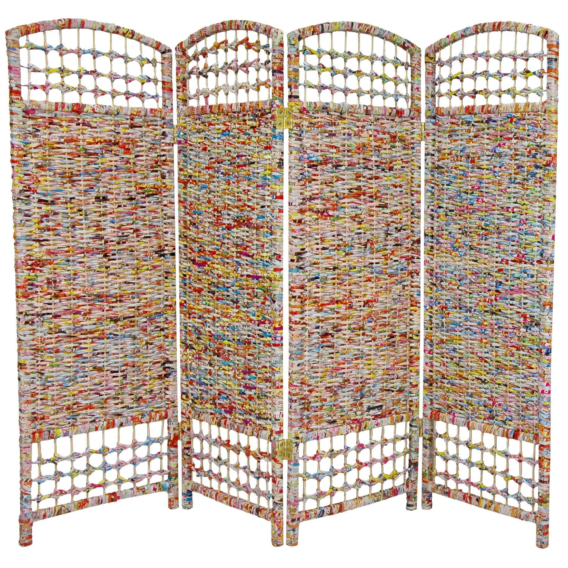 Shop Handmade Recycled Magazine 4 foot Tall Room Divider China