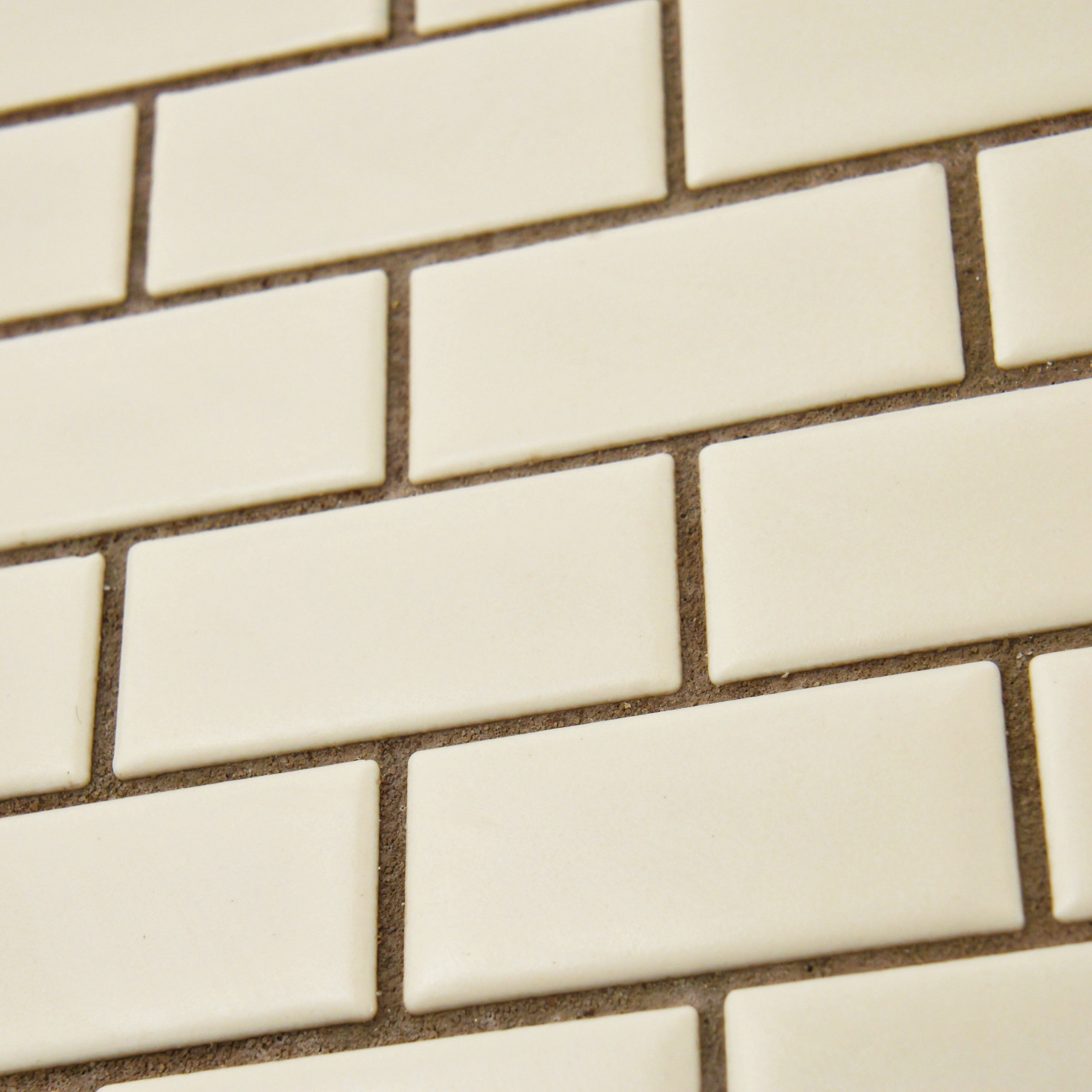 Somertile victorian subway 1x2 in matte biscuit porcelain mosaic somertile victorian subway 1x2 in matte biscuit porcelain mosaic tile pack of 10 free shipping today overstock 13977987 dailygadgetfo Choice Image