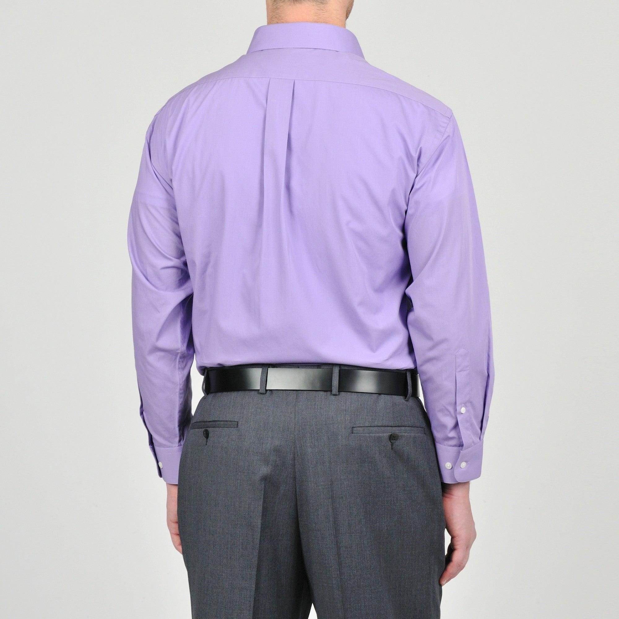 Shop Alexander Julian Colours Mens Purple Heart Dress Shirt And