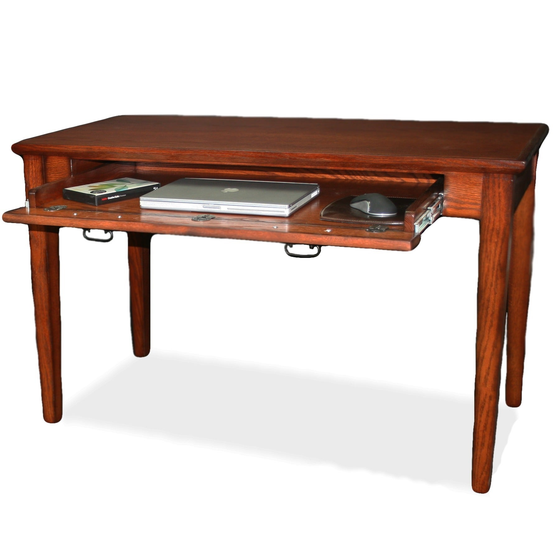 Mission Wooden Laptop Desk with Pullout Compartment - Free Shipping ...