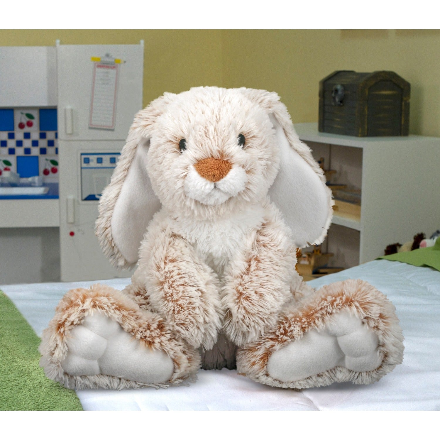 Melissa & Doug Burrow Bunny Stuffed Animal - Free Shipping On Orders Over  $45 - Overstock.com - 13983963