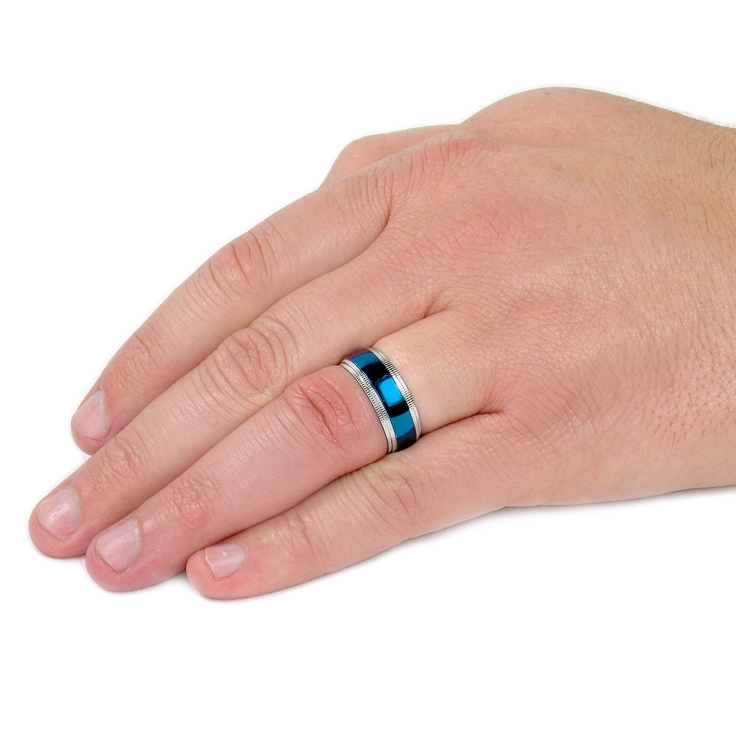s with sapphire wedding is exist still men band mens black bands blue it