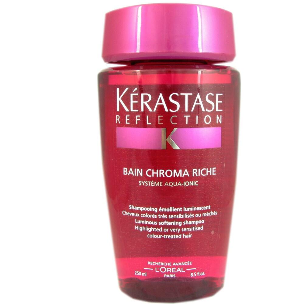 Shop Kerastase Bain Chroma Riche 85 Ounce Shampoo Free Shipping