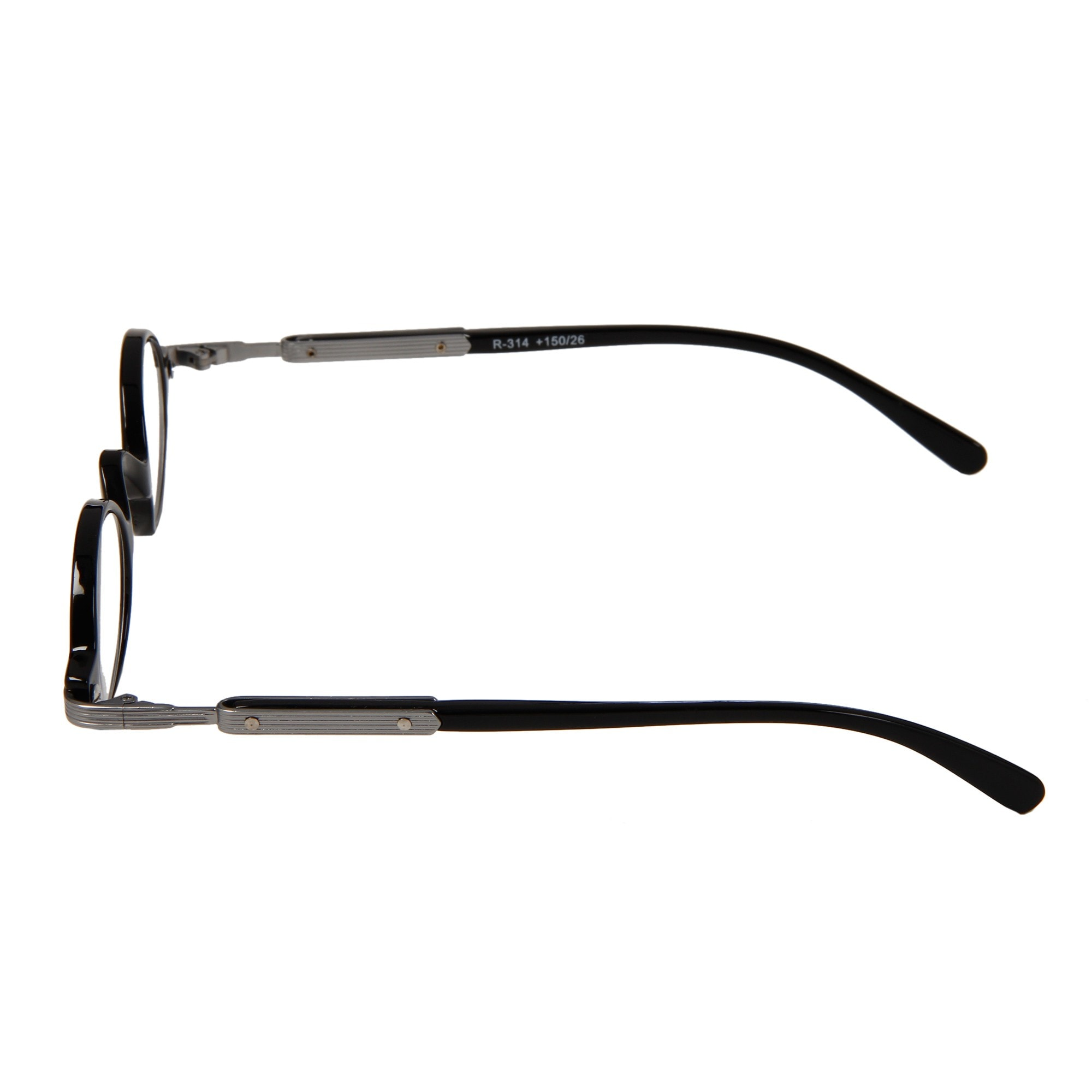 4a4c10a7068 Shop Hot Optix Unisex Retro Oval Plastic  Metal Reading Glasses - Free  Shipping On Orders Over  45 - Overstock - 6382598