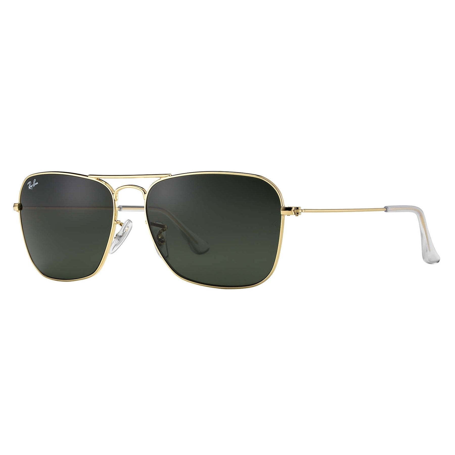 64aa4213d4 Shop Ray-Ban Caravan RB3136 Unisex Gold Frame Green Classic Lens Sunglasses  - Gold Green - Free Shipping Today - Overstock.com - 6385607