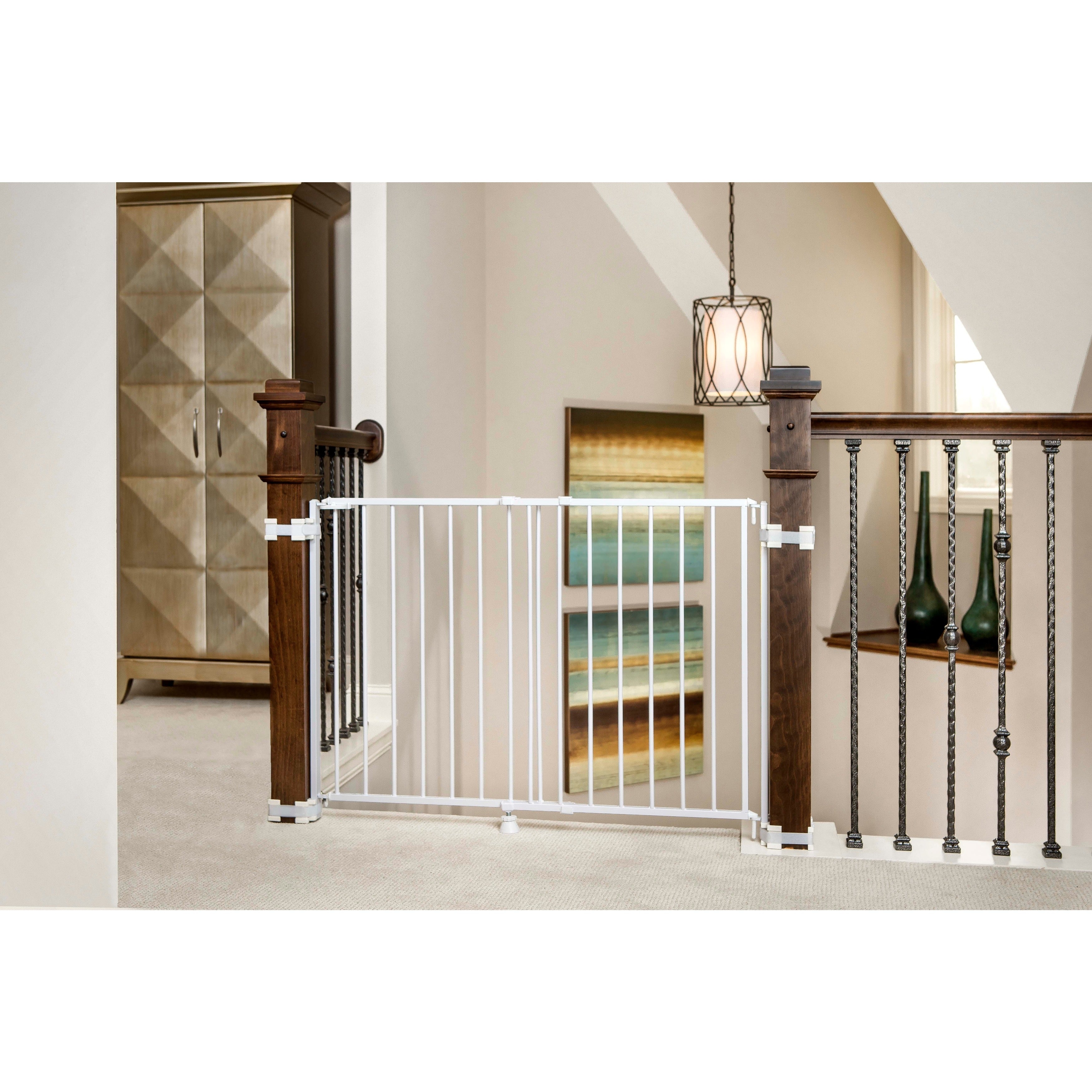 Regalo 2 In 1 Top Of Stairs Safety Gate   Free Shipping Today   Overstock    13999112