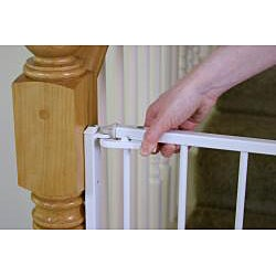 Good Regalo Top Of Stairs 2 In 1 Extra Tall Safety Gate   Free Shipping Today    Overstock.com   14001182