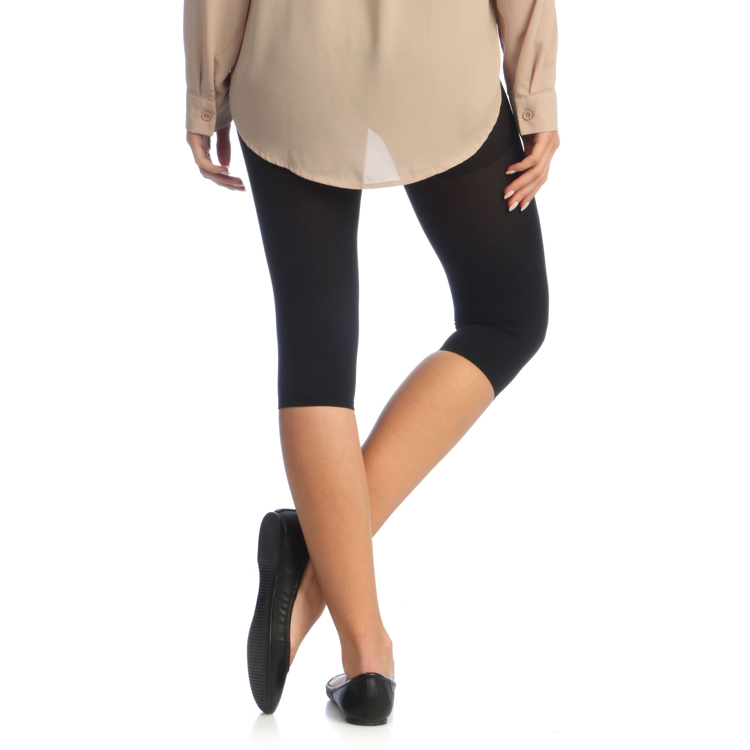 a57ded1136 Shop Co Coon Women s Thermal Slimmer Capris - Free Shipping Today -  Overstock.com - 6403076