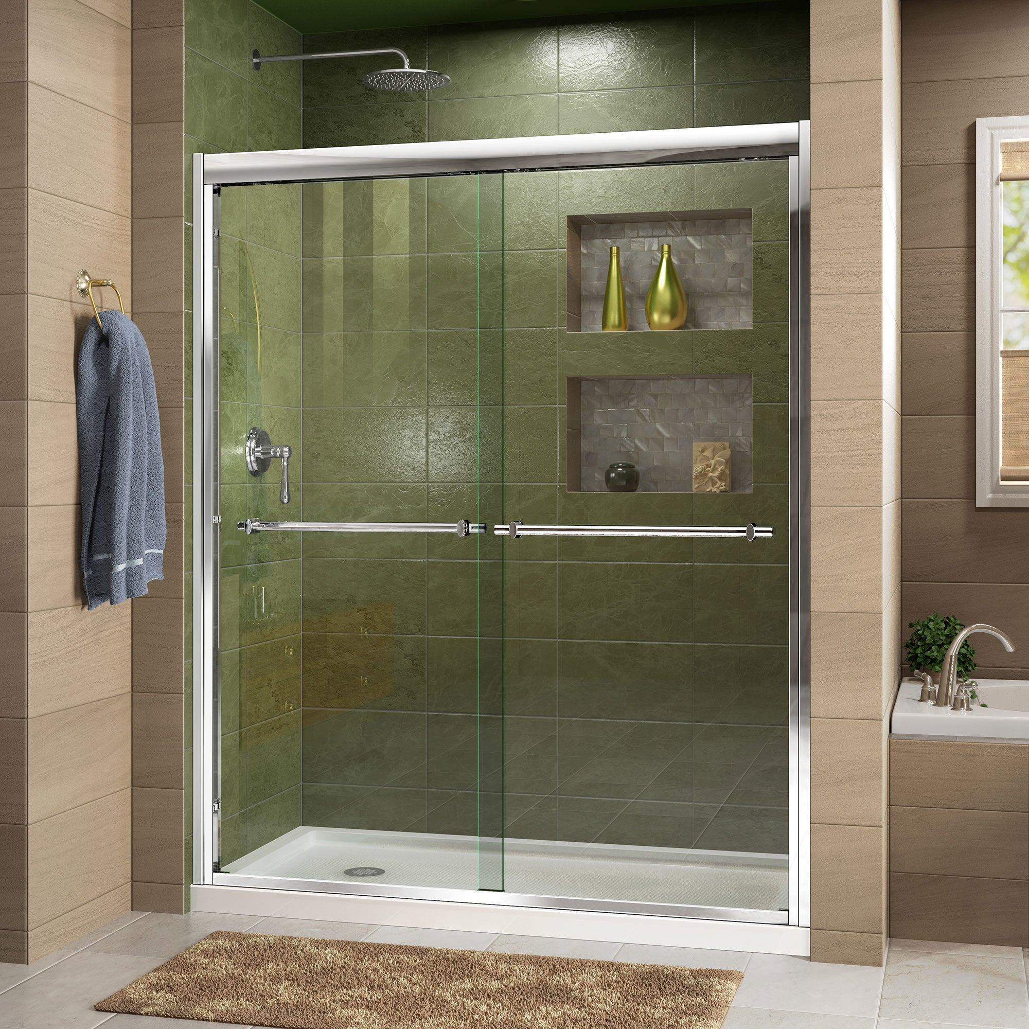 installation nashuahistory people for variations doors shower the of sliding modern track without bottom