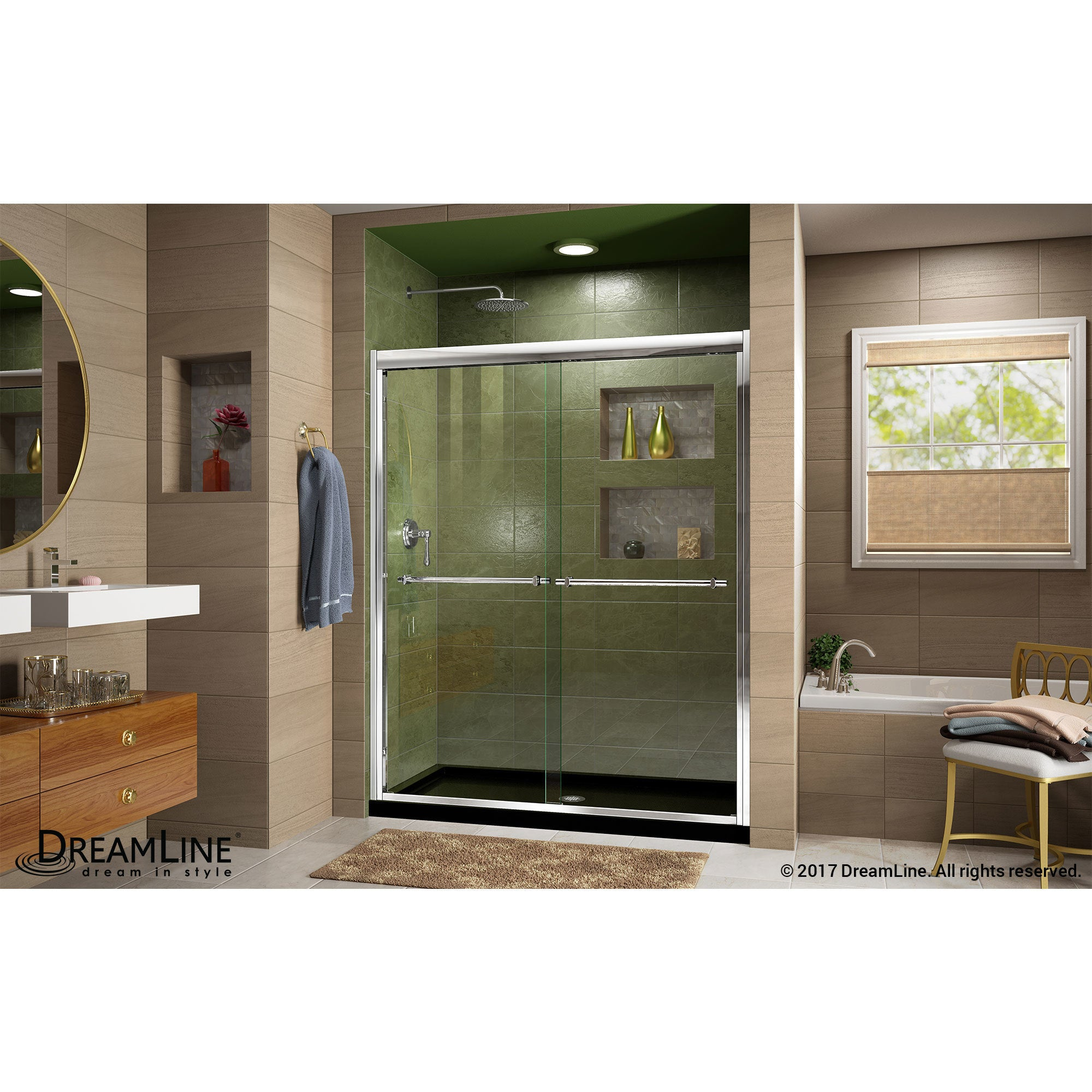 Colorful Bypass Shower Doors Embellishment Bathtubs For Small