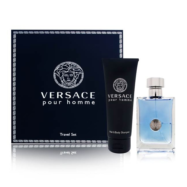 Shop Versace Versace Pour Homme Men s 2-piece Fragrance Gift Set - Free  Shipping Today - Overstock - 6408462 65c99f51a701d