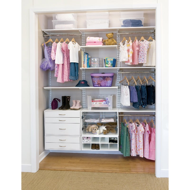 Organized Living FreedomRail O Box White 2 Drawer Hanging Closet Organizer    Free Shipping Today   Overstock   14022978